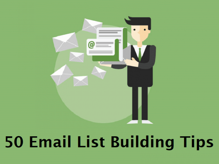 50-Email-List-Building-Tips