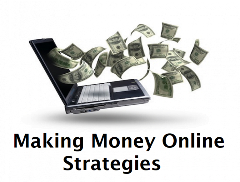 Making Money Online Strategies