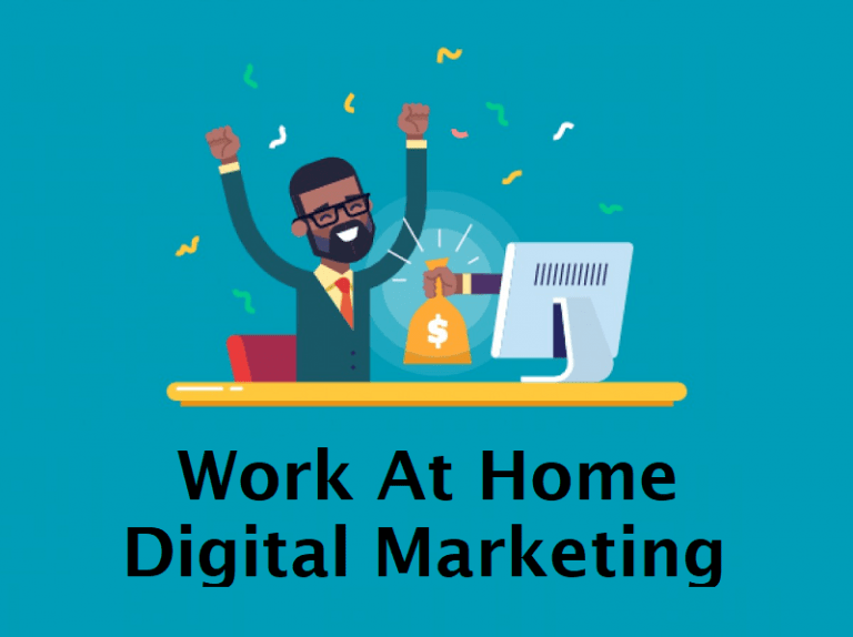 Work At Home Digital Marketing